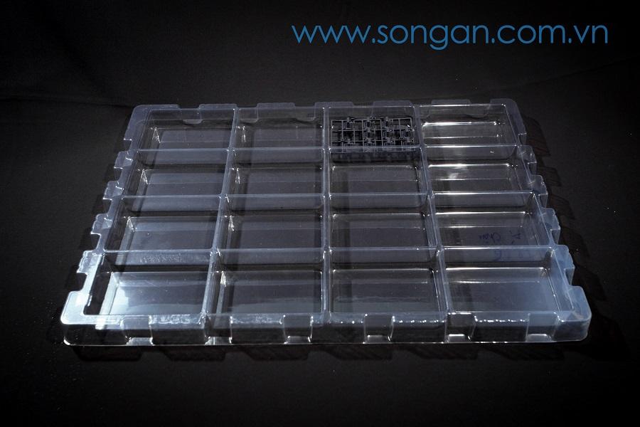 Khay đựng linh kiện nhựa trong máy in